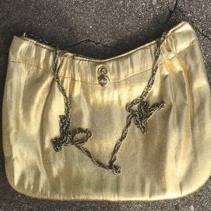 Vintage Ande gold chain bag